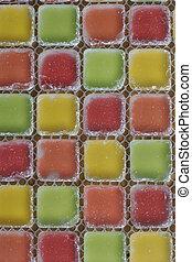 color glass tiles