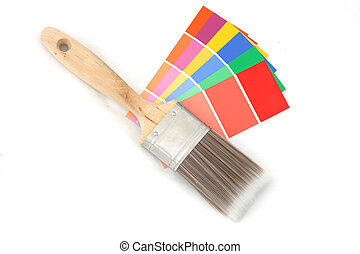 Color guide and brush 1
