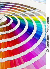 Color guide - Color chart - Pantone/ Colour formula guide...