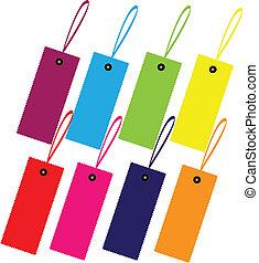 Color guide label design