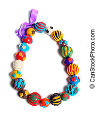 color hand made beads