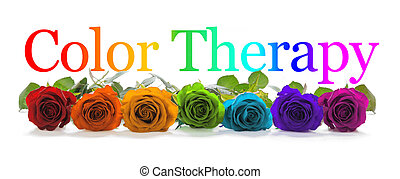 Color Healing Therapy Banner