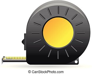 Color Icon - Measure tape