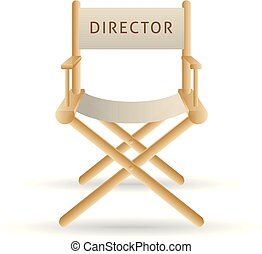 Color Icon - Movie director chair