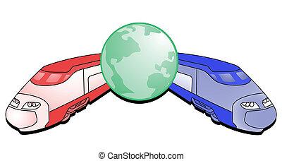 Color icon travel