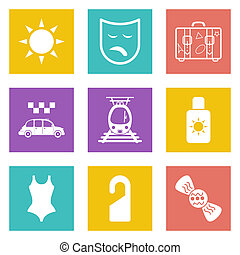 Color icons for Web Design set 41