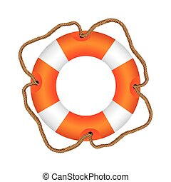 color lifebuoy icon image