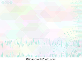 Color light abstract background