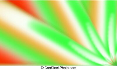 color light rays in space,windwill