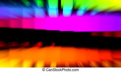 color light rays,computer web tech