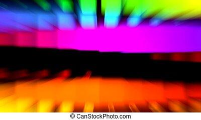 color light rays,computer web tech