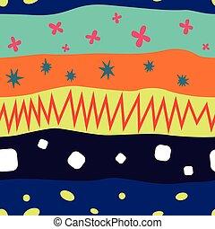 Color lines pattern vector illustration
