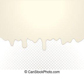 Color liquid vector background