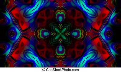 color lotus flower pattern wedding