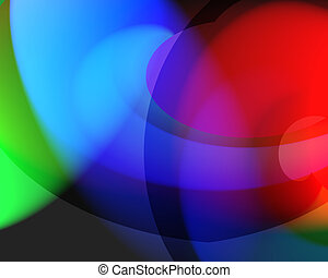 color mix - RGB background