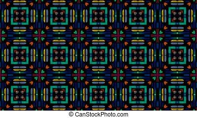 color mosaics array background
