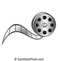 color movie film clipart icon