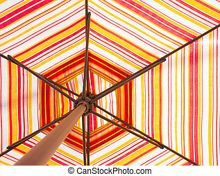 color, multi, paraguas