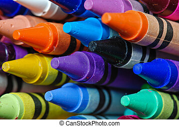 Color My World - New crayons in box.