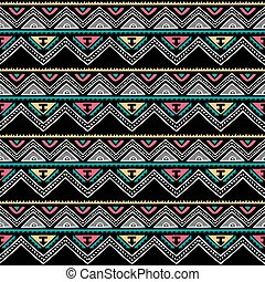 color native ethnic seamless pattern