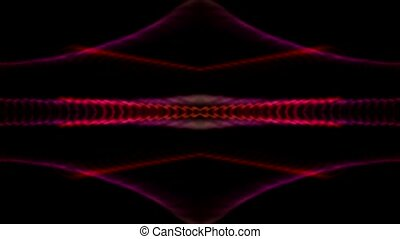 color neon light,flare laser banner