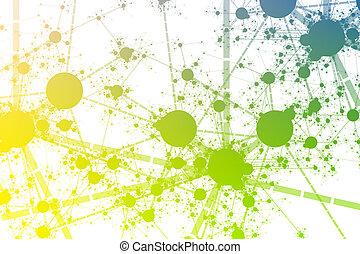 Network Paint Splatter