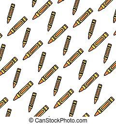 color nice crayon pencil art background