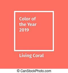 Vector Trend Color Palette 2019 Vector Flat Design Palettes For The