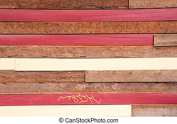 color of wood wall background