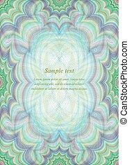 Color page design background