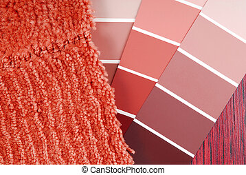 color paint  and carpet choicefor interior