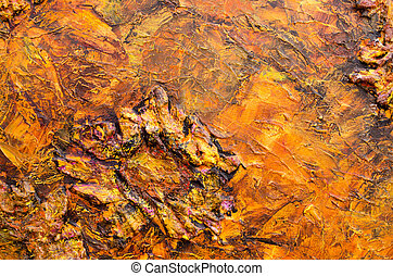 color paint mix acrylic background art hand draw