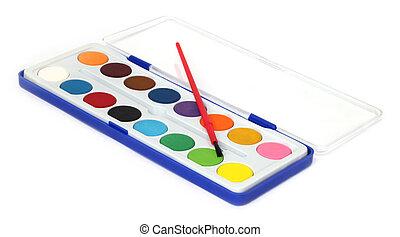 Color palette box