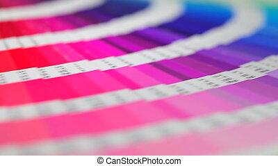 Color palette - Color press palette rotation