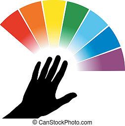 color palette illustration
