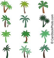 Forest Symbol Or Evergreen Trees Vector Icon Forest