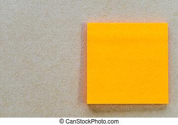 Color paper note