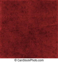 Color paper red