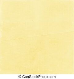 Color paper yellow