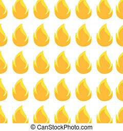 color pattern with flame close up