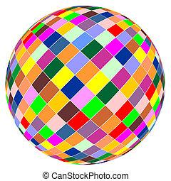 color, pelota