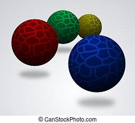 color, pelotas