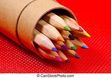 Color Pencils - Various Colored Pencils