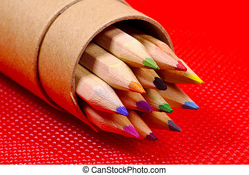 Color Pencils - Various Colored Pencils