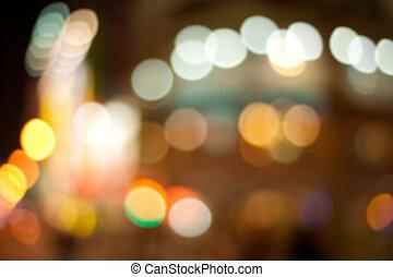 Color photo background with city illuminated light.