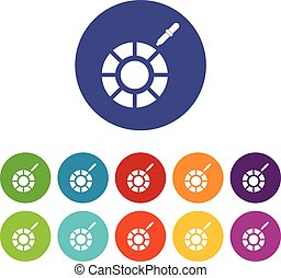 Color picker set icons
