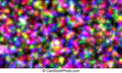 color plasma abstract
