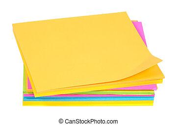 color, postits