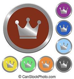 Color premium services buttons