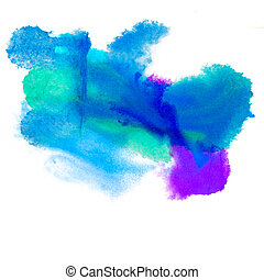 color purple spot blue light macro blotch texture isolated...